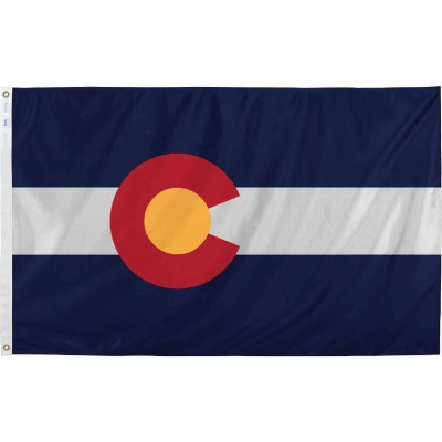 Valley Forge 3 Ft. x 5 Ft. Nylon Colorado State Flag