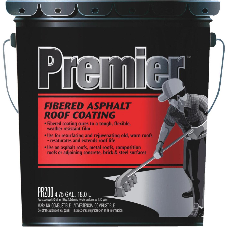Premier 5 Gal. Fibered Asphalt Roof Coating Image 1
