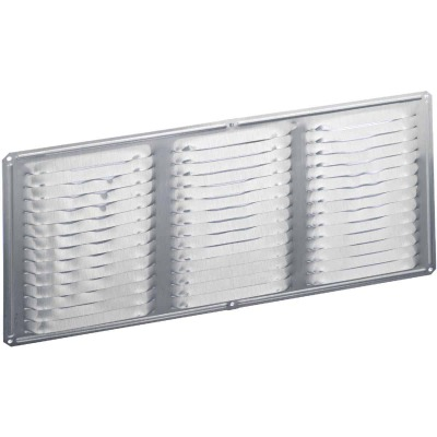 Air Vent 16 In. x 8 In. Galvanized Under Eave Vent