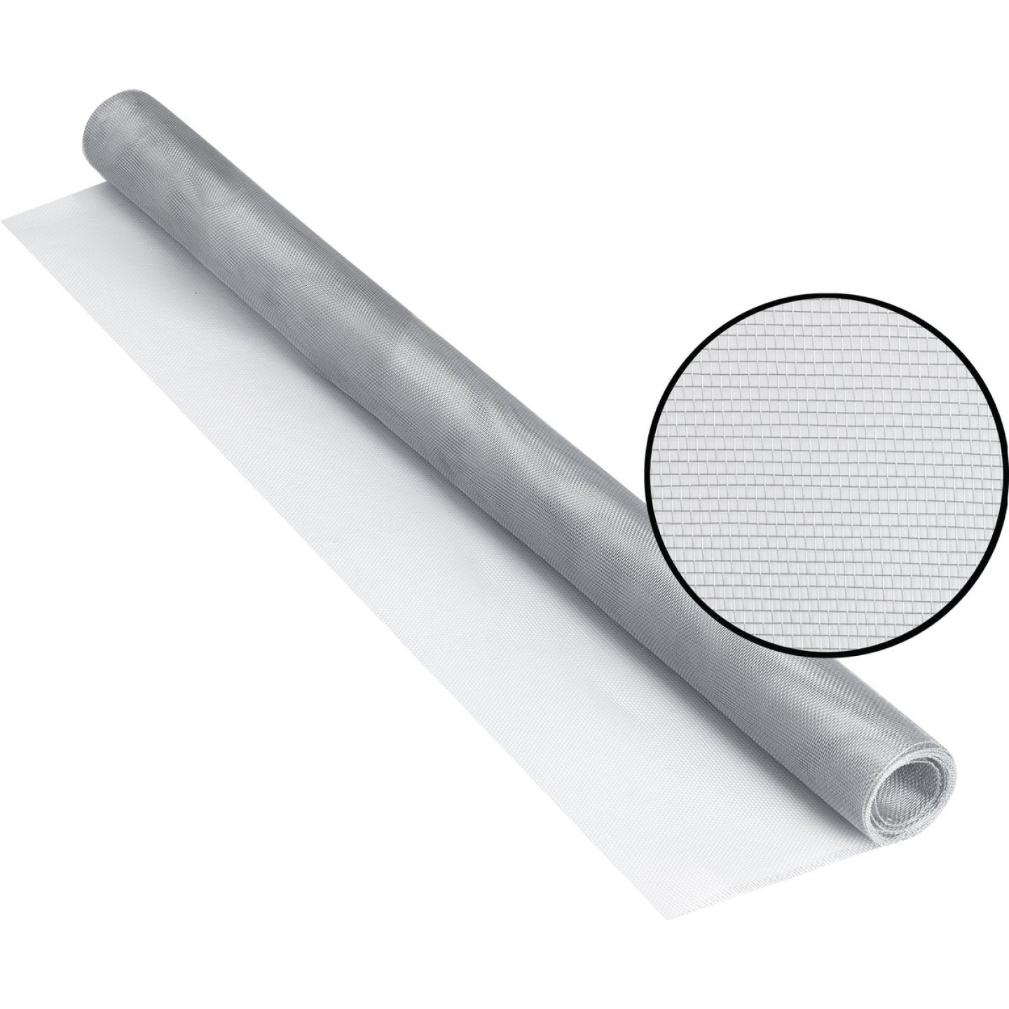 Phifer 36 In. x 84 In. Brite Aluminum Screen Ready Rolls Image 1