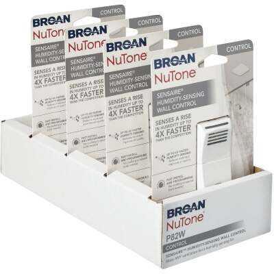 Broan Sensaire White 720W Humidity Sensing Control Switch