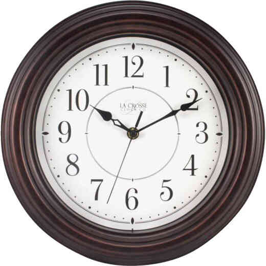 La Crosse Clock Silent Sweep Wall Clock