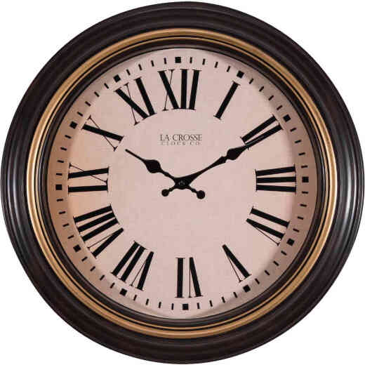 La Crosse Clock Quartz Wall Clock