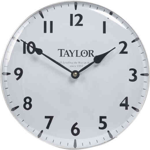 Taylor Vintage Collection Patio Wall Clock