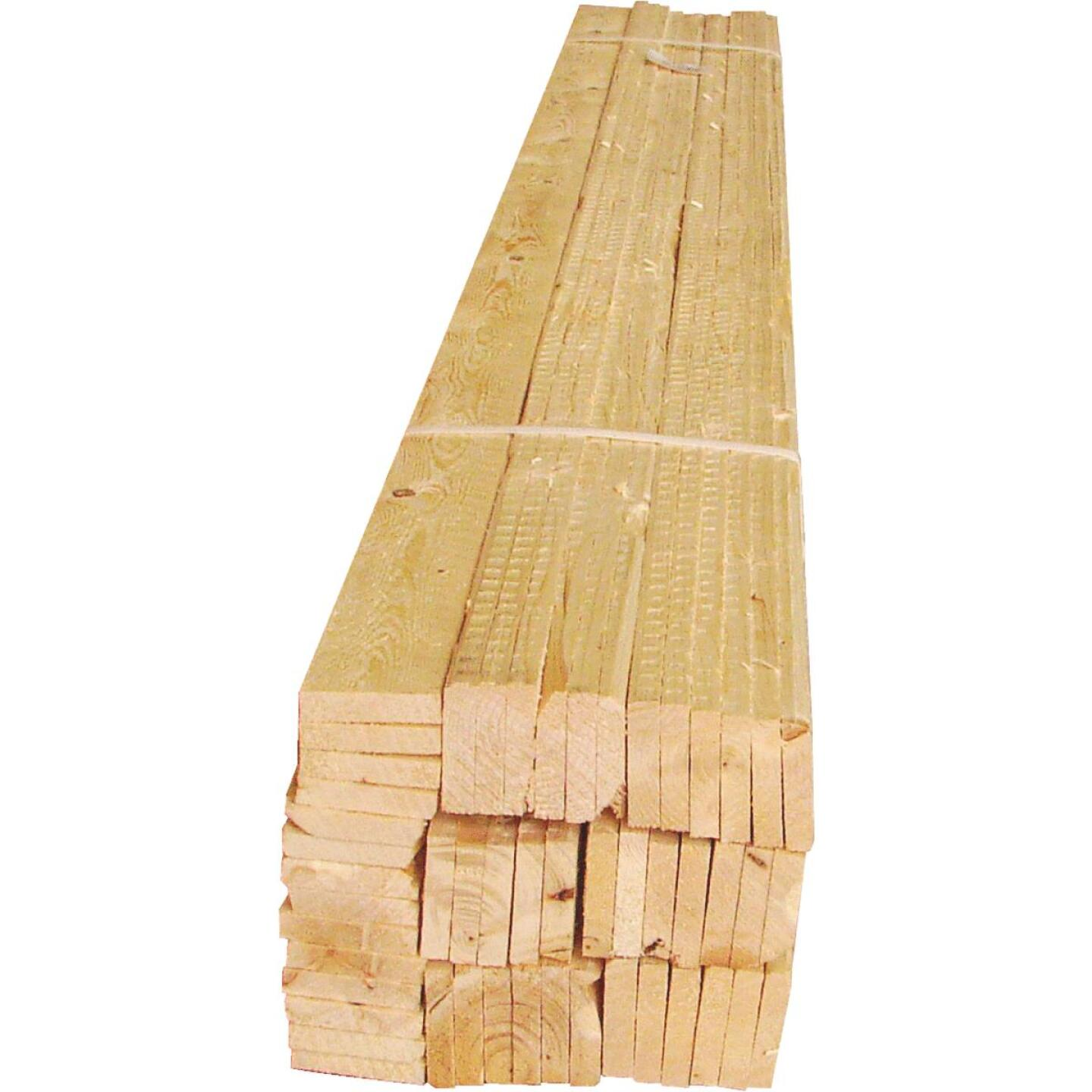 Sourcewood 1-1/2 In. x 3/8 In. x 48 In. Wood Lath (50-Pack) Image 2