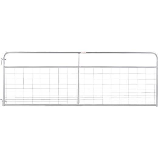 Tarter 50 In. H. x 8 Ft. L. x 1-3/4 In. Tube Diameter Galvanized Wire-Filled Tube Gate