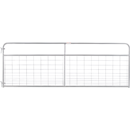 Tarter 50 In. H. x 12 Ft. L. x 1-3/4 In. Tube Diameter Galvanized Wire-Filled Tube Gate