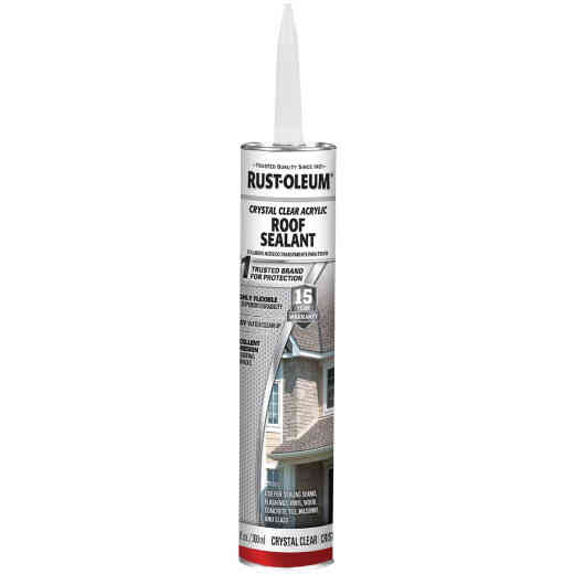 Rust-Oleum LeakSeal 10.1 Oz. Clear Acrylic Roof Sealant