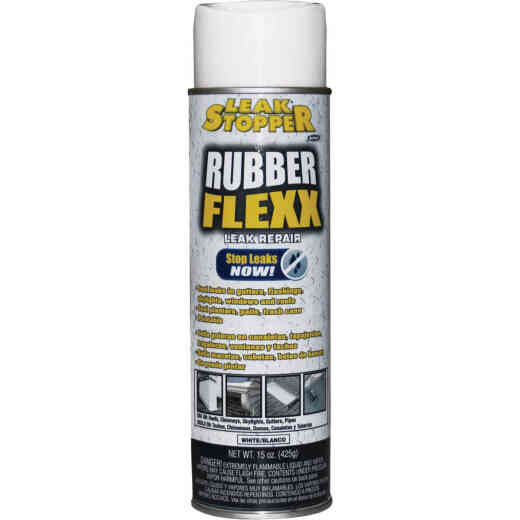 Black Jack Leak Stopper 15 Oz. White Rubber Flexx Spray Sealant