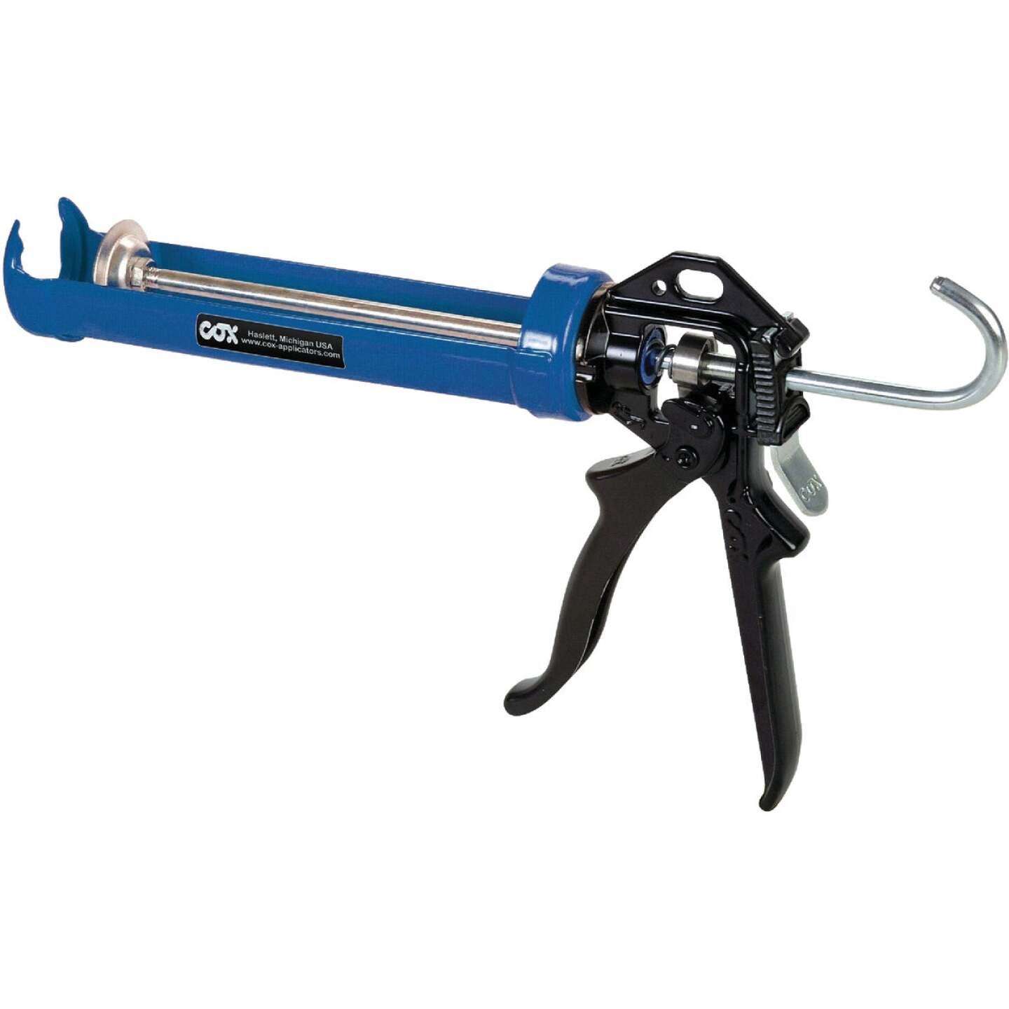 Cox PowerFlow 10 Oz. 12:1 Thrust Professional Cradle Caulk Gun Image 1