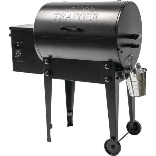 Traeger Tailgater 20 Black 19,500 BTU 300 Sq. In. Wood Pellet Grill